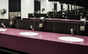 オシャレなトイレの洗面所