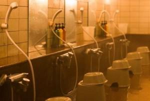 銭湯のシャワー