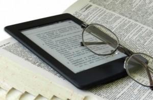 電子書籍のタブレット