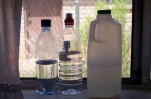 様々なサイズのボトル