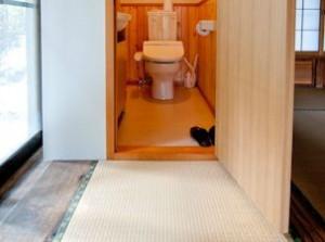 個室のトイレ