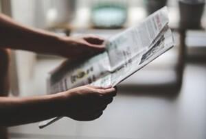 英字の新聞