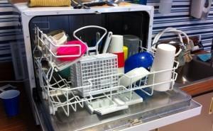 邪魔な食洗機