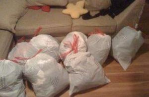 外国のゴミ袋