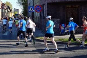 海外のマラソンランナー