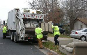 海外のゴミ収集車