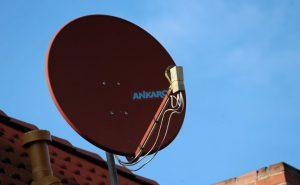 衛星放送のアンテナ