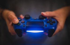 光ゲームのコントローラー