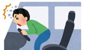 シートベルトなしの影響