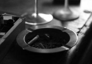 タバコの灰皿