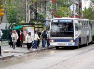 外国のバス