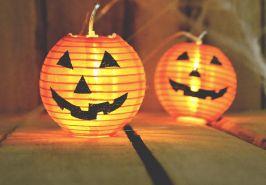 ハロウィンのかぼちゃライト