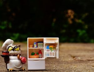 小さな冷蔵庫