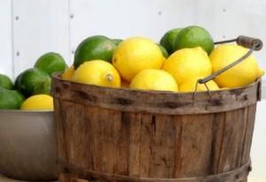 大量のレモン