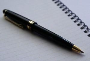高級そうなボールペン