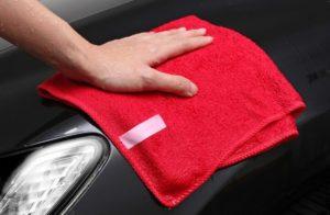 洗車用の拭き取り専用グッズ