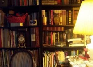 詰め込みすぎの本棚