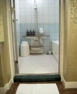 お風呂場のスペース