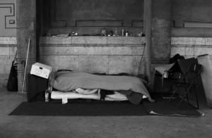 外国のホームレス