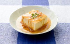 豆腐のあんかけ