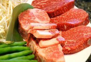 霜降り肉と赤身肉