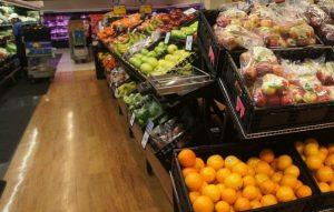 外国のスーパーの果物
