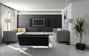 金持ちのシンプルな部屋