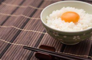 シンプルな卵かけご飯