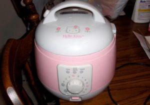 キティちゃんの炊飯器