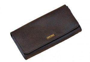 シンプルな黒の長財布
