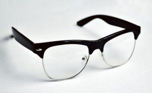 シンプルな眼鏡