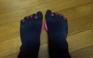 5本指エクサと五本指靴下
