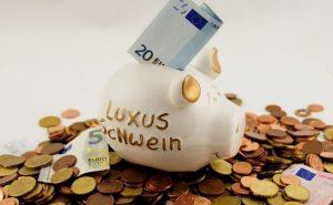 節約家の貯金箱
