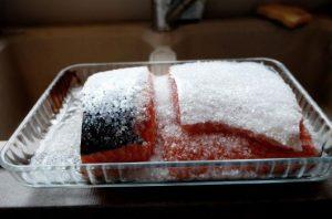 冷凍されていた食品