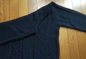 ネット通販で騙されたセーター