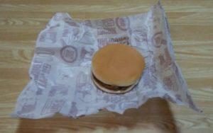 マクドナルドのハンバーガーが不味くなって感心した!