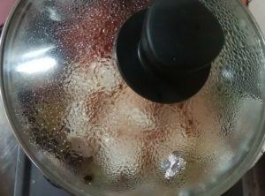 普通の鍋で無水カレーを作る為に試行錯誤して美味しくできた