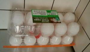 安売り卵のストック