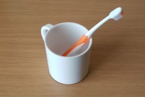 意外と盲点!?歯磨きコップを清潔に保つ方法!